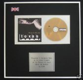 TEXAS - CD Album Award - WHITE ON BLONDE